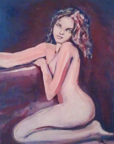 Jeune fille nue