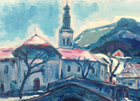 Morzine l'église