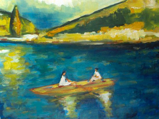 La promenade en barque