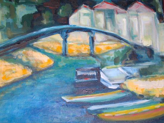 Le pont et les barques