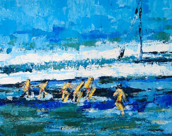 La plage normande