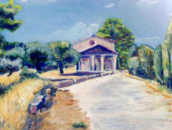 La Chapelle de toutes Aures vue de devant