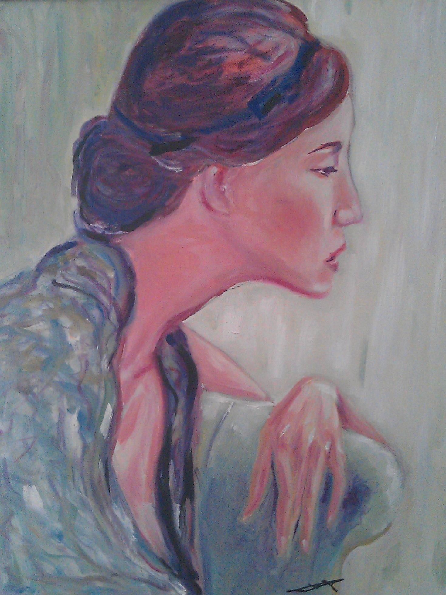 jeune-femme-en-vert