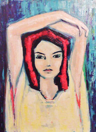 La femme rouge