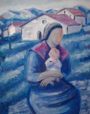 la-paysanne et l'enfant
